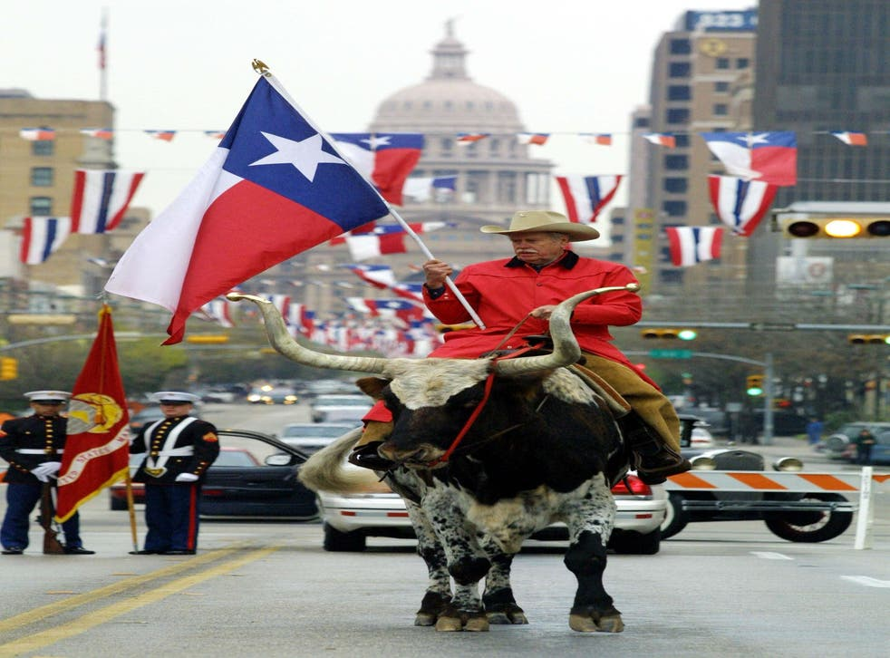 Celebrating Texas Independence Day (from Mexico) in Austin
