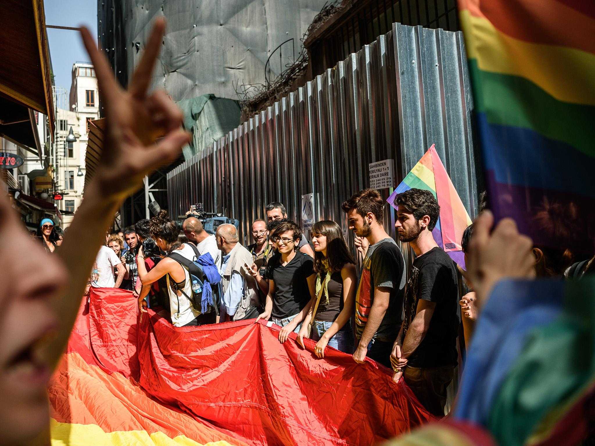 German MP claims he was 'violently arrested' during Istanbul gay pride protest