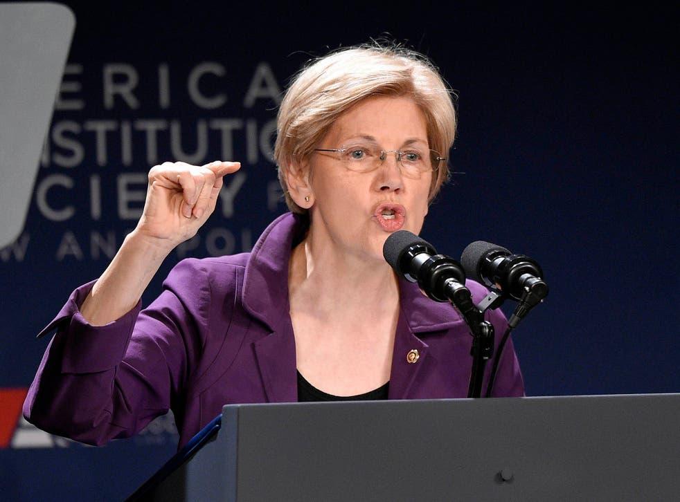"Elizabeth Warren described the President's comments as ""deeply unfortunate"""