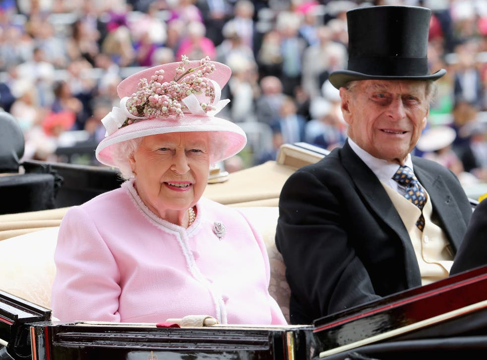 The Queen and Prince Philip at Royal Ascot