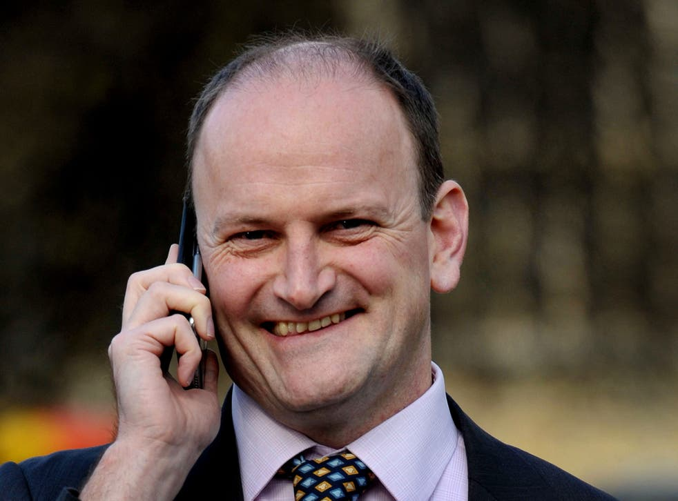 Douglas Carswell, Member of Parliament for Clapton