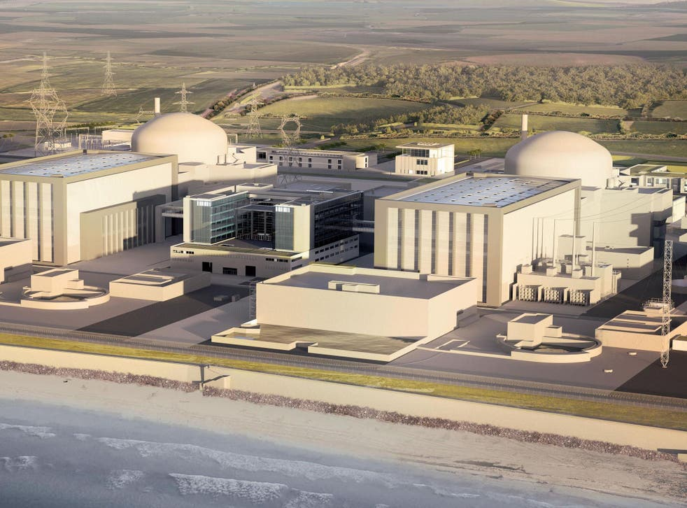 Artists impression of Hinkley Point