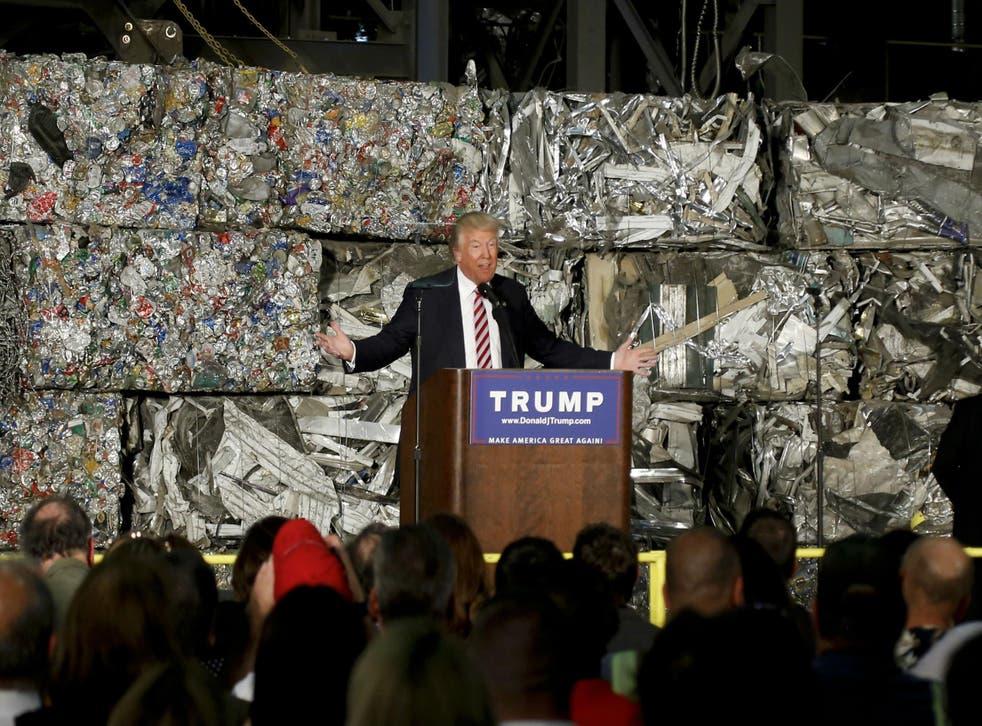 Donald Trump outlines trade approach in Pennsylvania