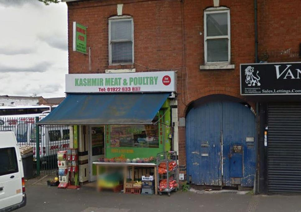 Halal butchers firebombed with Molotov cocktail in Walsall
