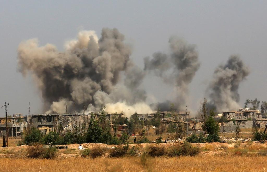 Image result for Over 300 IS militants killed in airstrikes in Iraq