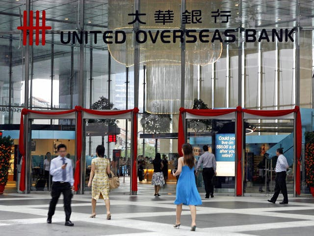 UOB has said it is monitoring the market environment closely