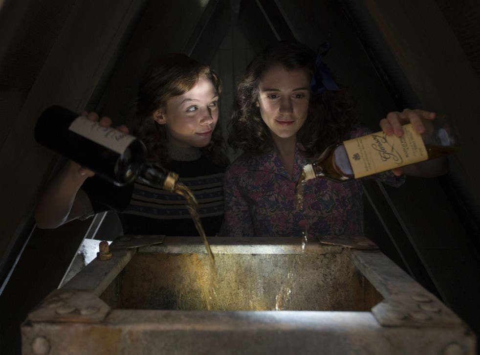 A scene from Whisky Galore!