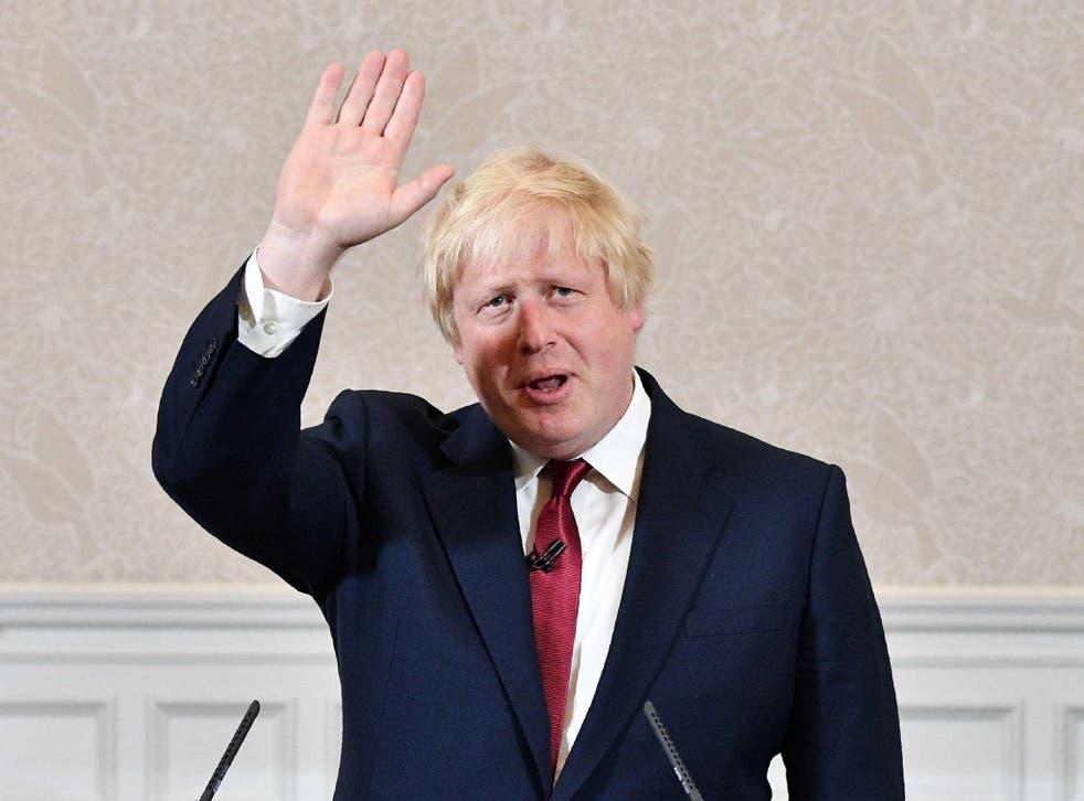Boris waves goodbye to his leadership ambitions