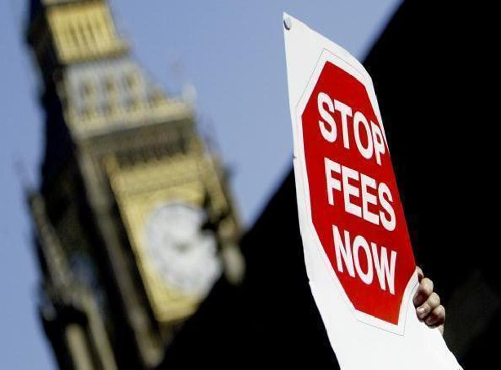 Protesters gathered at Parliament Square this week to oppose the new Higher Education Bill, which allows universities to increase fees