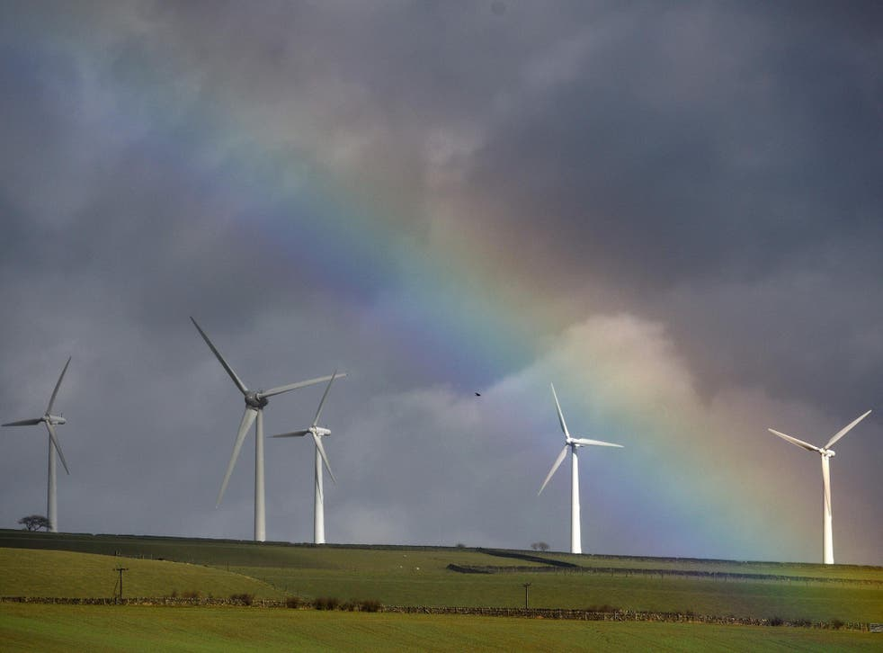 Windfarms do not appear to be putting off tourists