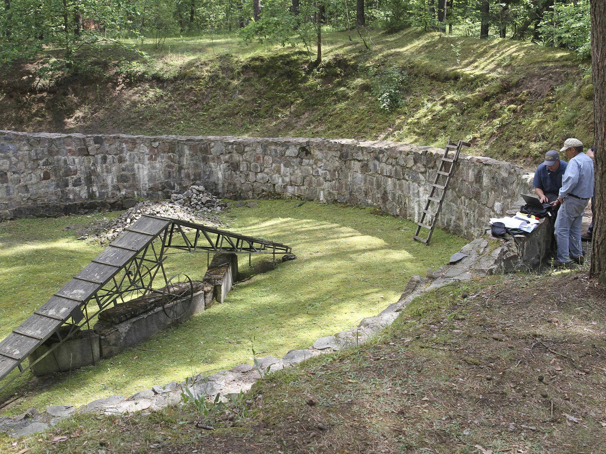Secret tunnel hand-dug by Jews to escape Nazi captors