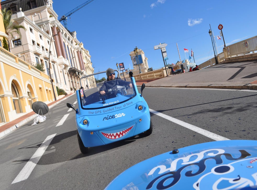 Driving Into The Blue On The Cote D Azur The Independent The Independent