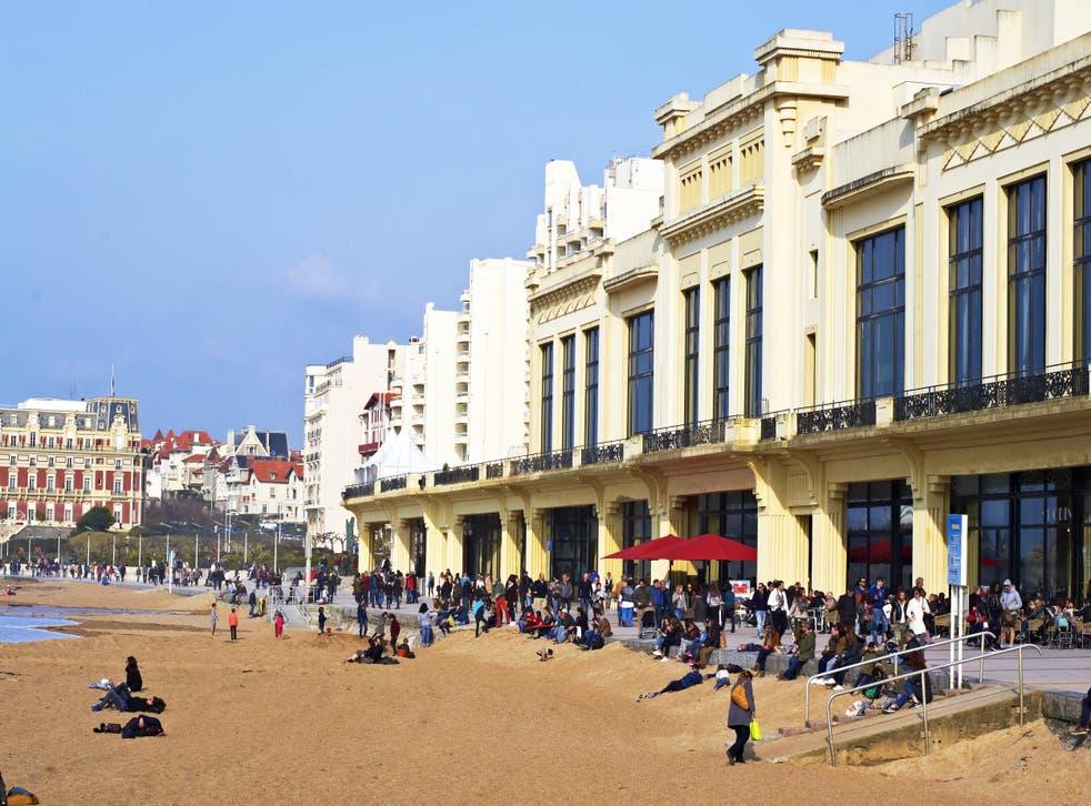 Biarritz's Grande Plage