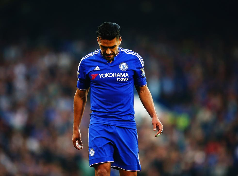 Radamel Falcao is one of three players to have left Chelsea