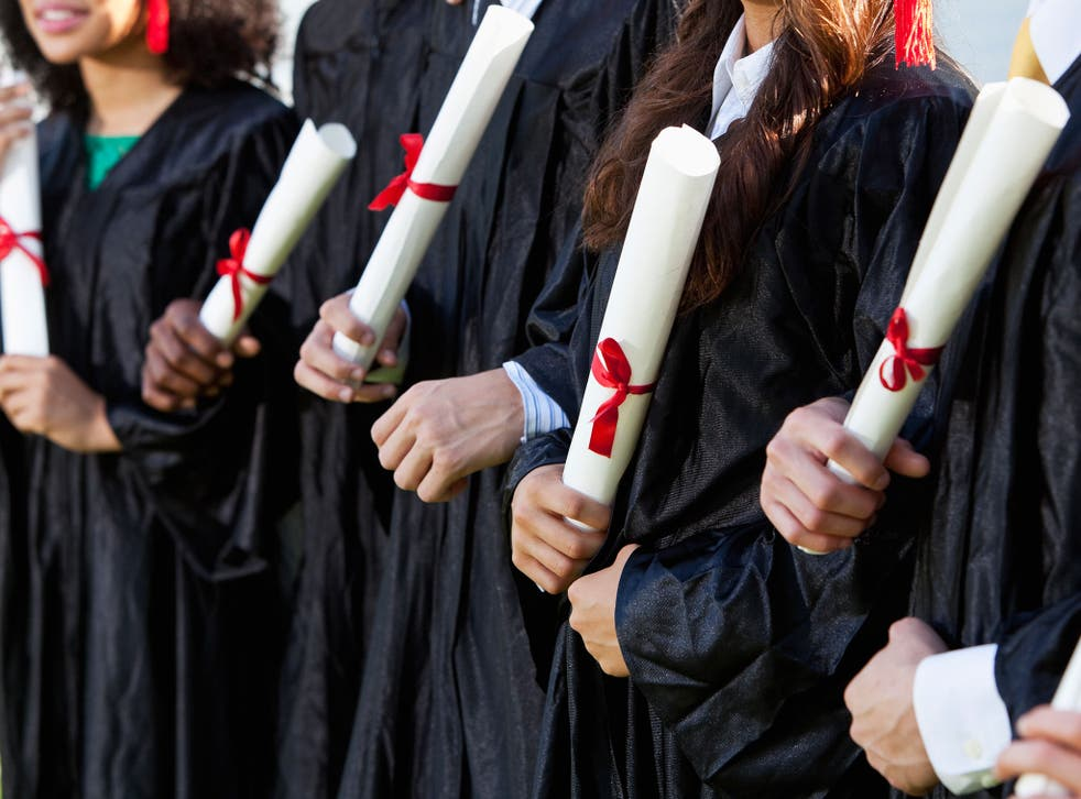 State-school educated students, who made up over 80 per cent of the survey sample, were just as likely as those who were privately educated to disapprove of lower grade offers