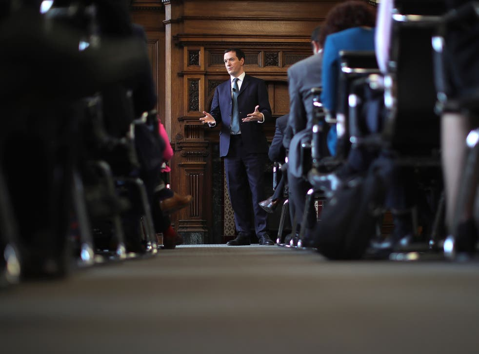 George Osborne spoke during a visit to the Manchester Chamber of Commerce yesterday in an attempt to reassure businesses after Brexit