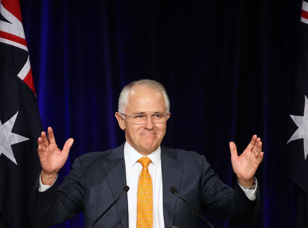 Australian PM Malcolm Turnball has rejected the Chinese purchase of electricity assets in New South Wales