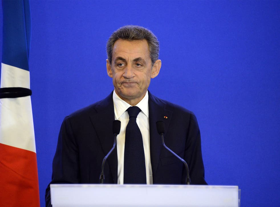 The former French president will compete against 13 other candidates from his conservative party in the primaries