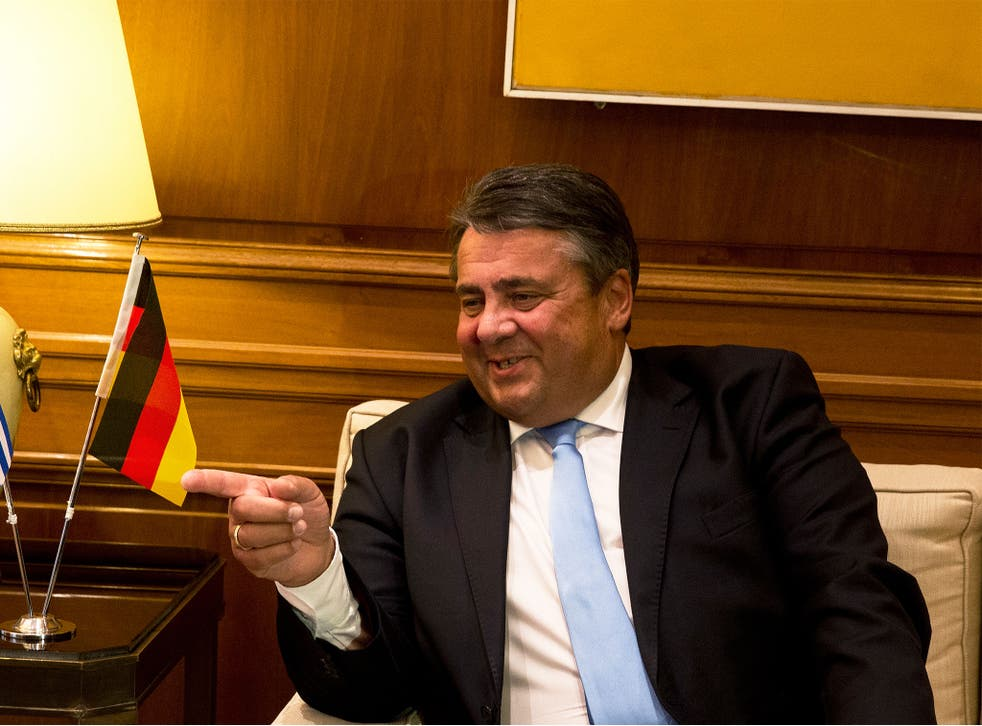 Mr Gabriel says Germany should offer citizenship to young Britons living in the country