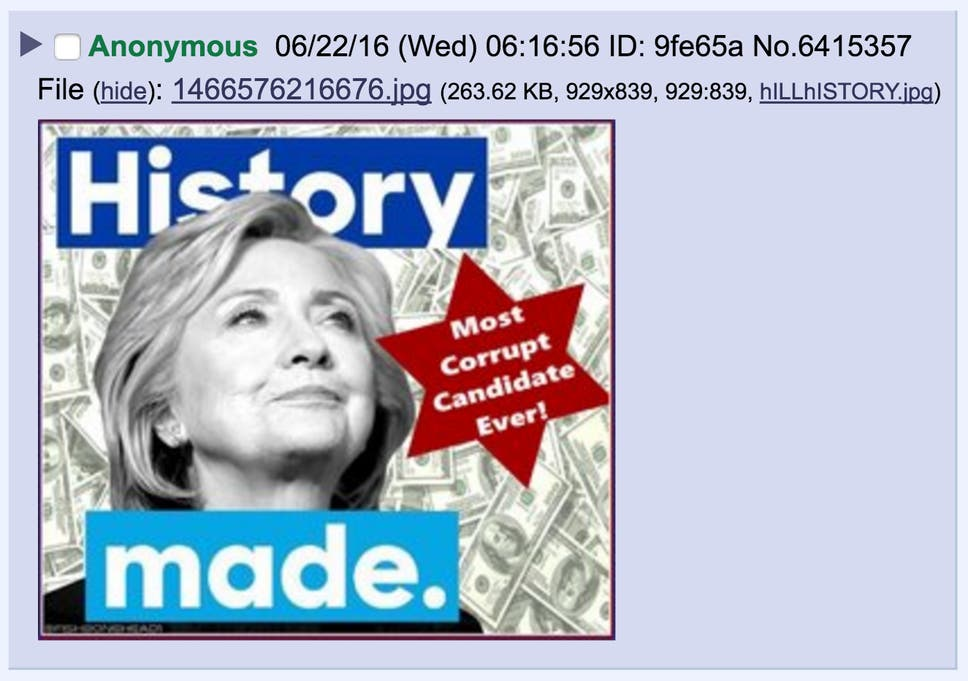hillary meme?w968h681 anti semitic' hillary clinton meme tweeted by trump came from white