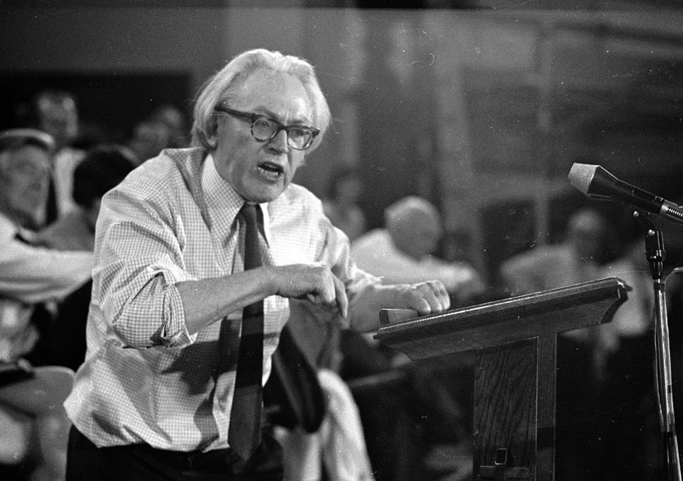 Labour Figures And Family Outraged By Renewed Claims Michael Foot Was Soviet Informant