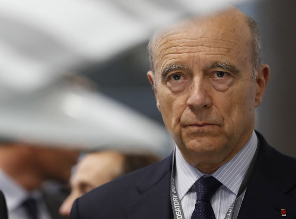 Alain Juppe, a presidential candidate and former French Prime Minister