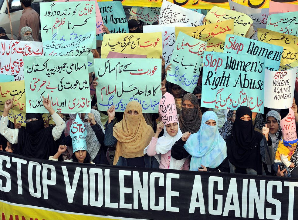 Pakistan has one of the highest rates for honour killings in the world and the issue has sparked huge protests