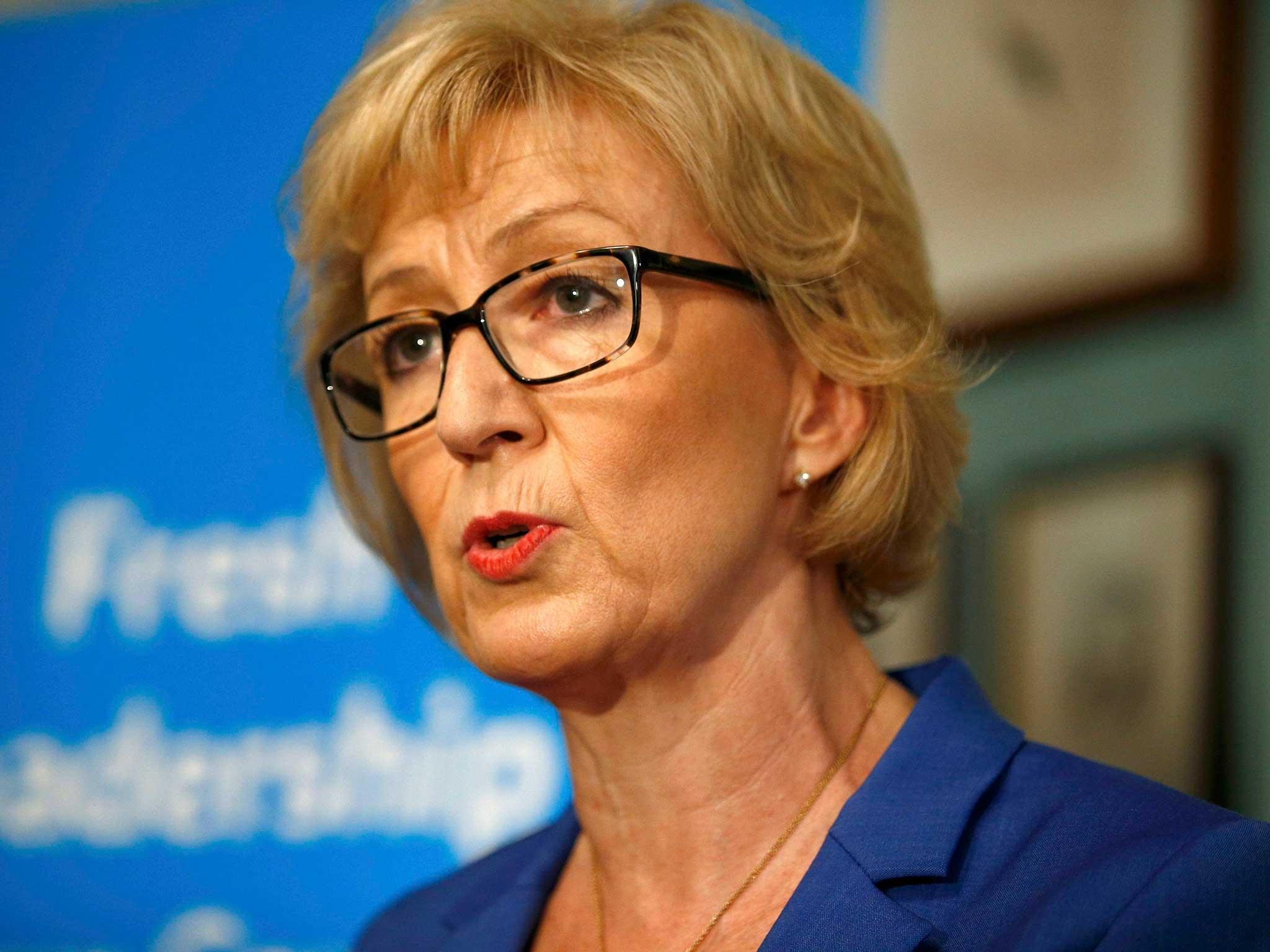 andrea leadsom accused of  u0026 39 misleading u0026 39  claims on her cv