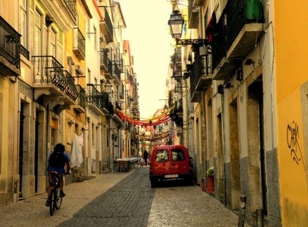Lisbon's Bairro Alto district