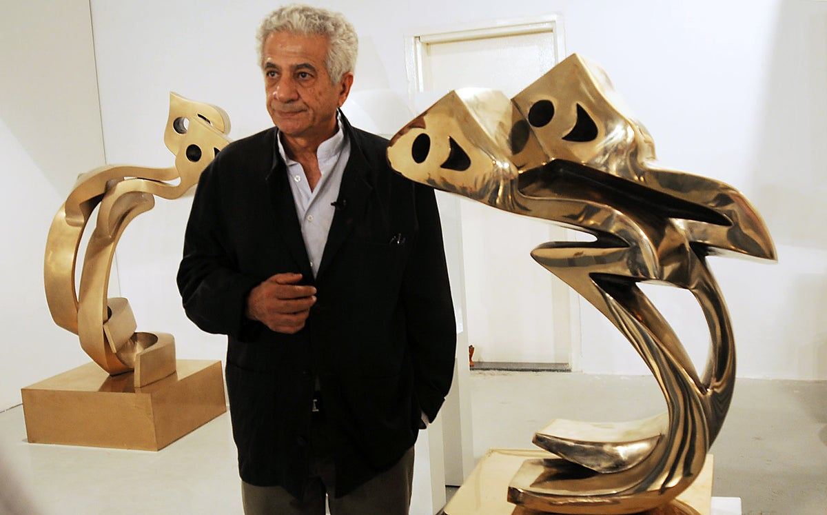 Iranian artist Parviz Tanavoli barred from leaving country ahead of London visit | The Independent | The Independent