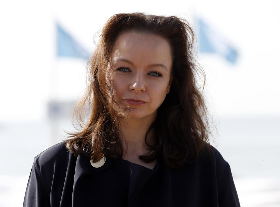 Samantha Morton at Cannes earlier this year