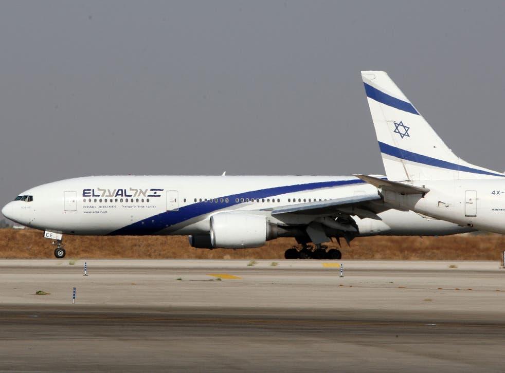 El Al planes on the tarmac at Ben Gurion International airport