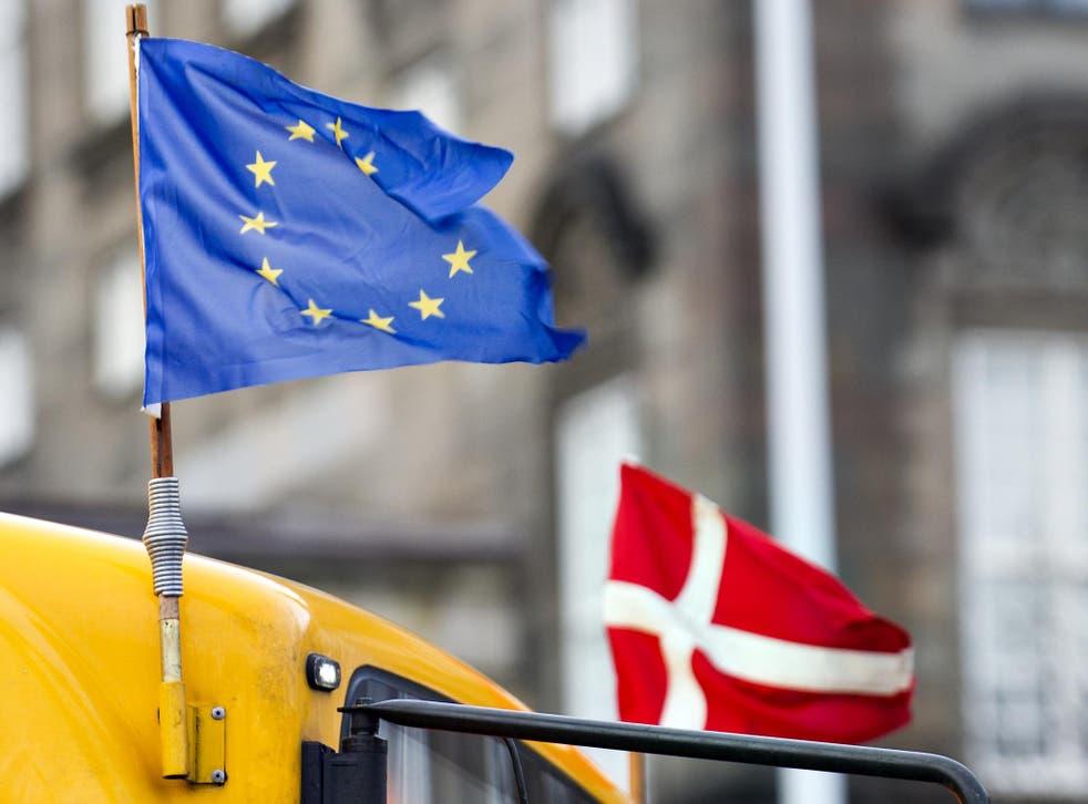 Denmark's president has ruled out having a referendum on EU membership