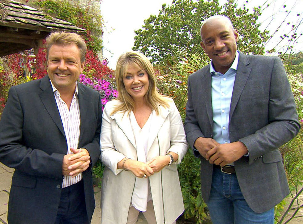 Martin Roberts, Lucy Alexander and Dion Dublin hosting Homes Under the Hammer