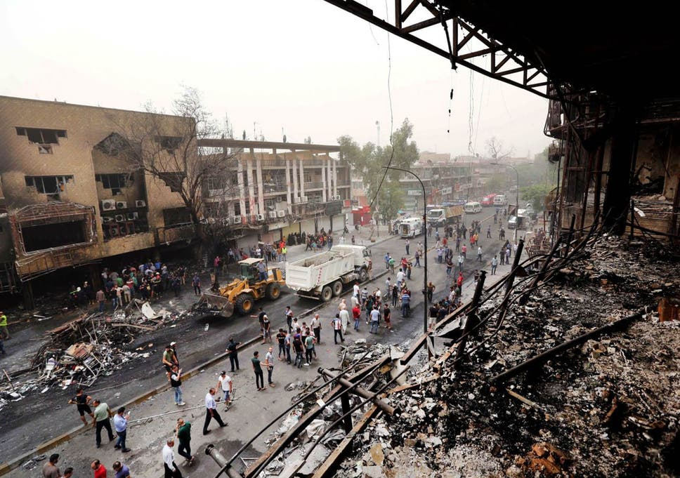 Baghdad attack: Death toll from Isis bombing rises to 250 in