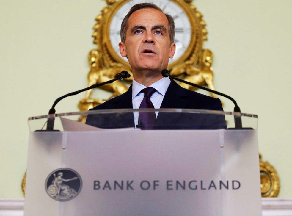The governor of the Bank of England Mark Carney gives a press conference, his first since the leave result of the European Union referendum