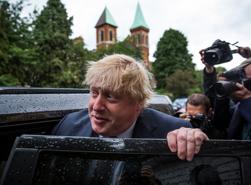 Mr Johnson had long been the favourite to succeed Mr Cameron