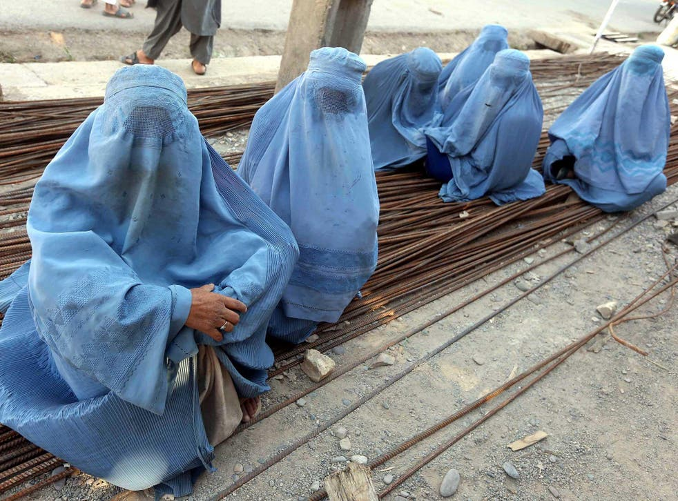 Afghan customs dictate that a woman's name should never be revealed