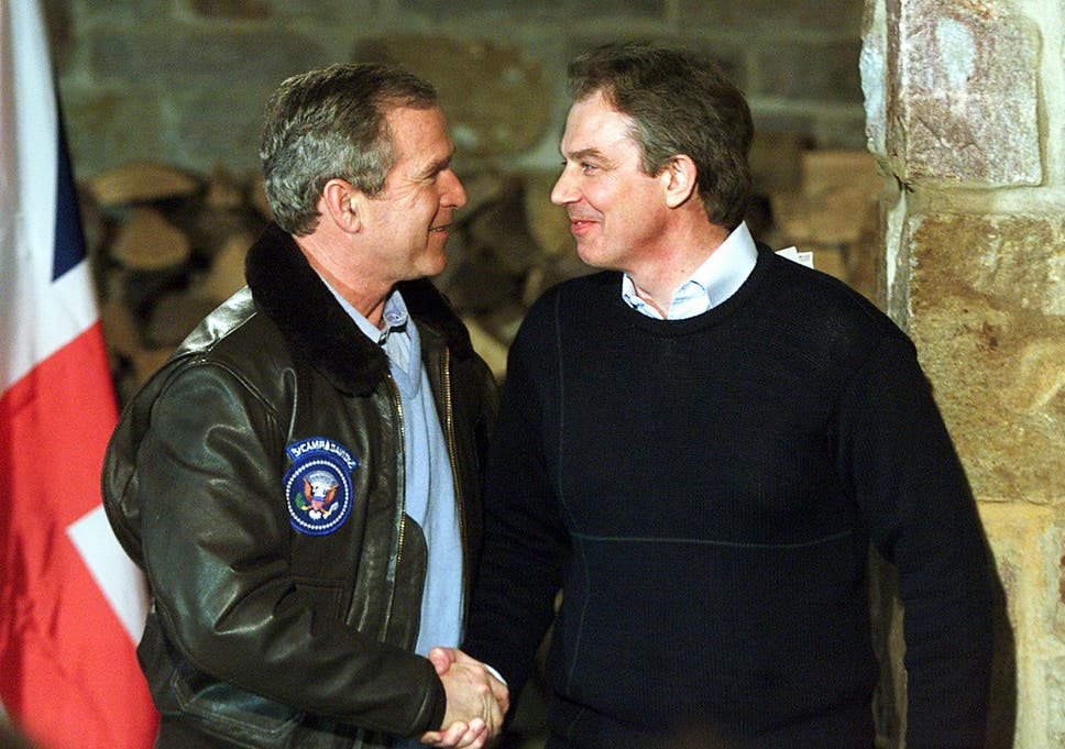 Why Were In Iraq And Why Bush And >> What Would Have Happened If Tony Blair Hadn T Taken Us To The Iraq
