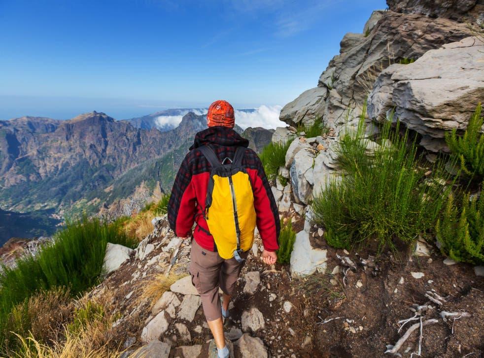 Hiking amid Madeira's Pico Ruivo and Pico do Arieiro mountains