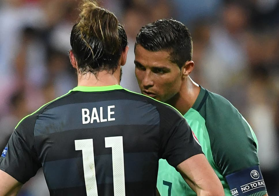 Cristiano Ronaldo reveals what he said with Gareth Bale after Portugal  knock Wales out of Euro 2016 2b0cd2060