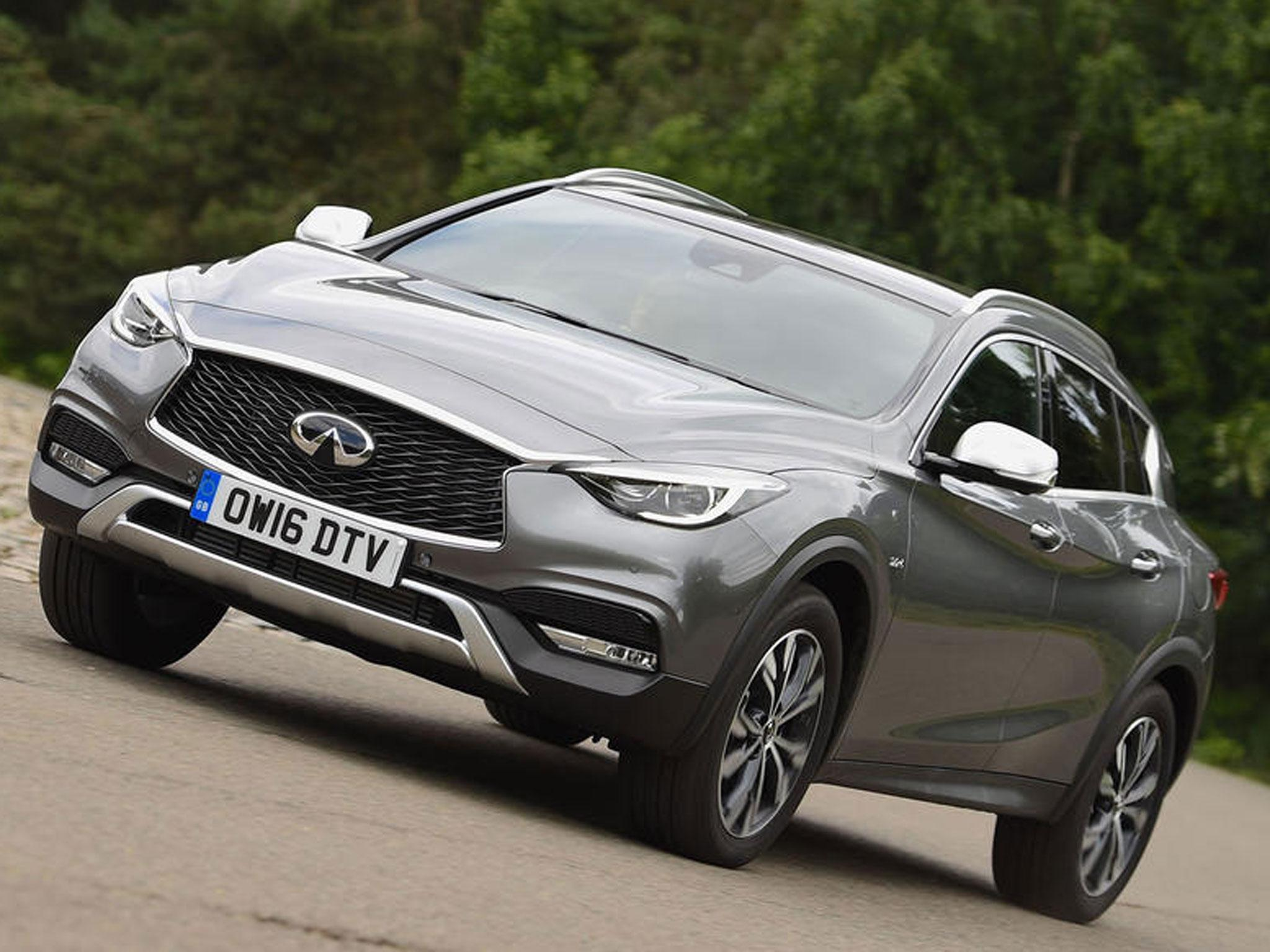 Infiniti qx30 premium tech car review crossover gets an x but lacks the x factor the independent