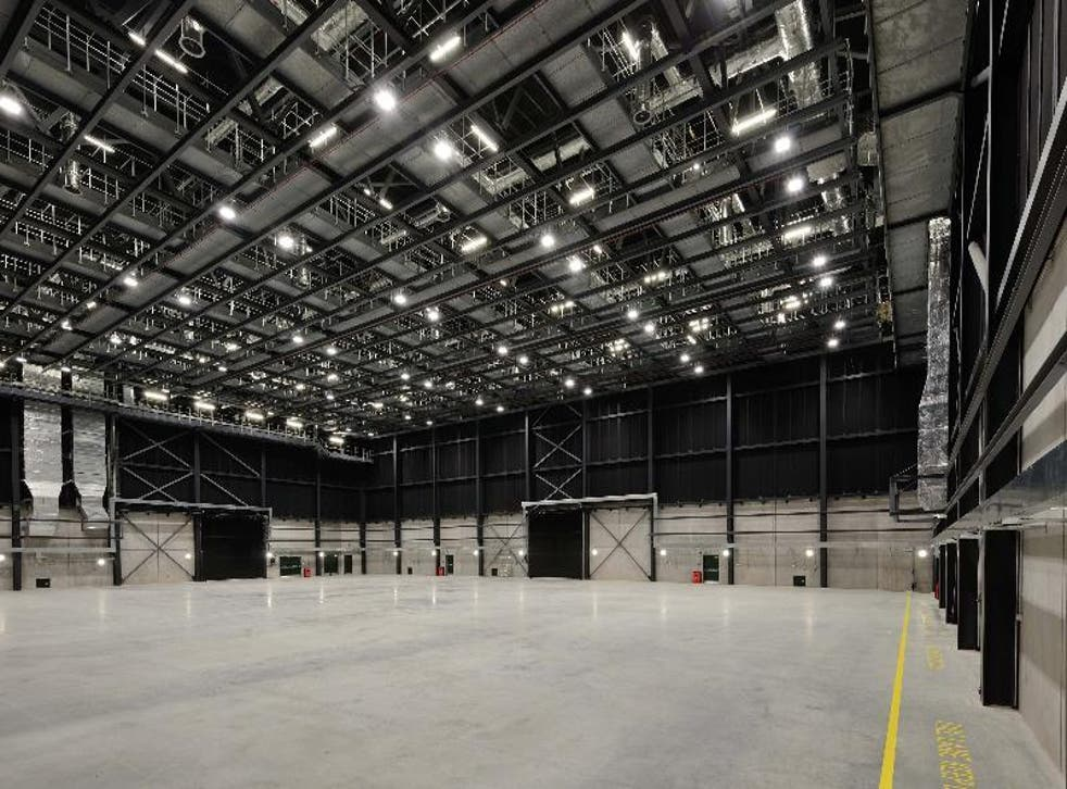 Stage 1 at Pinewood Studios