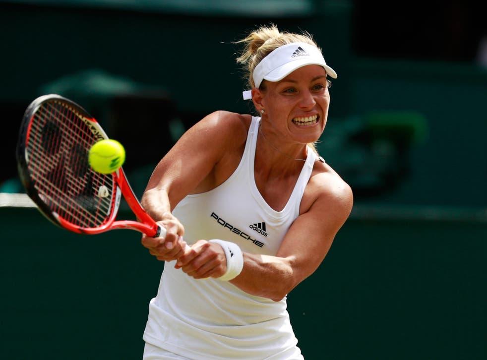 Angelique Kerber beat Venus Williams 6-4, 6-4 to reach the Wimbledon final