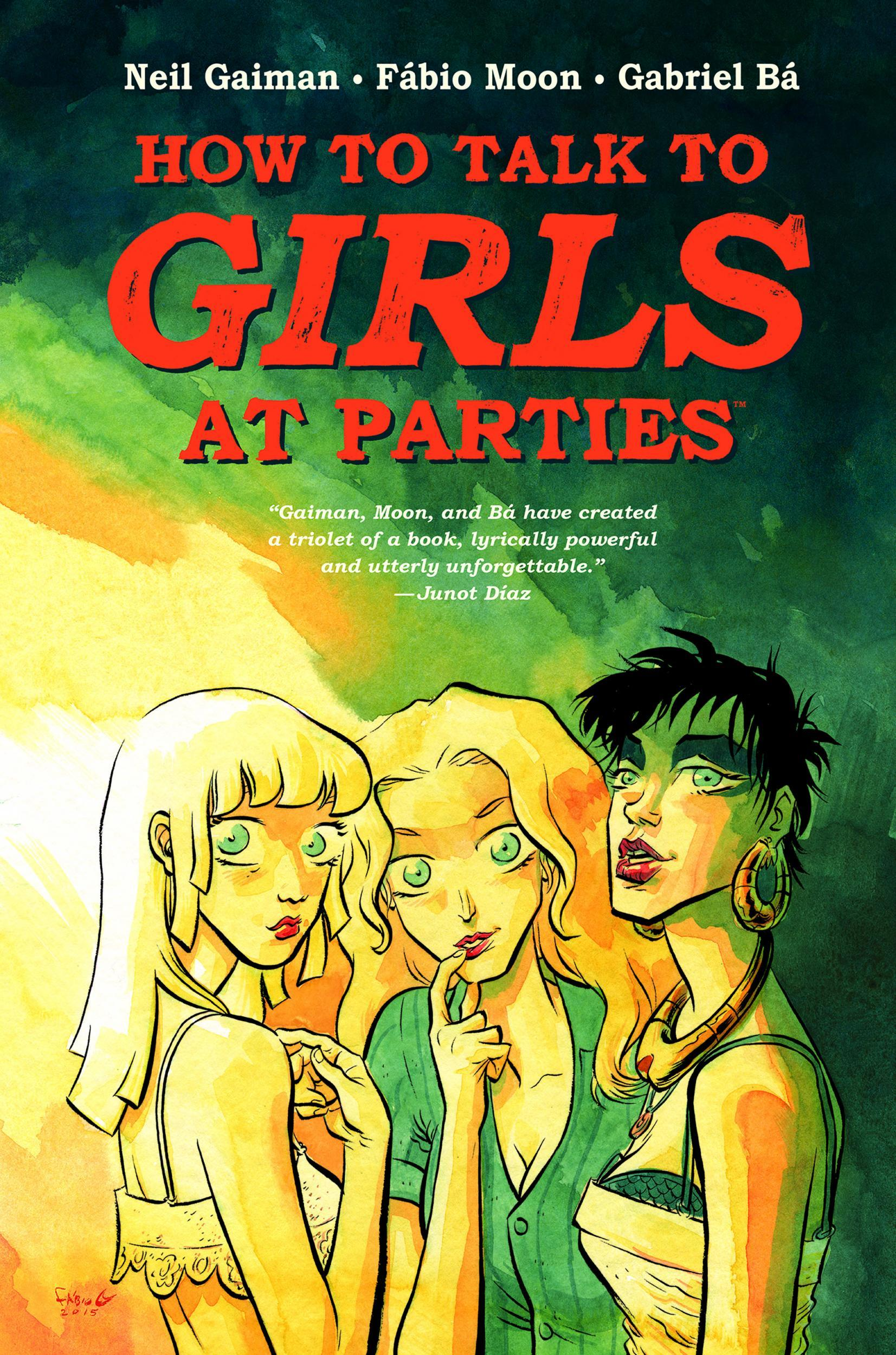 How To Talk To Girls At Parties, Neil Gaiman, Fabio Moon And Gabriel Ba,  Review: An Extraterrestrial Teen Romance In Punkera Croydon  The  Independent