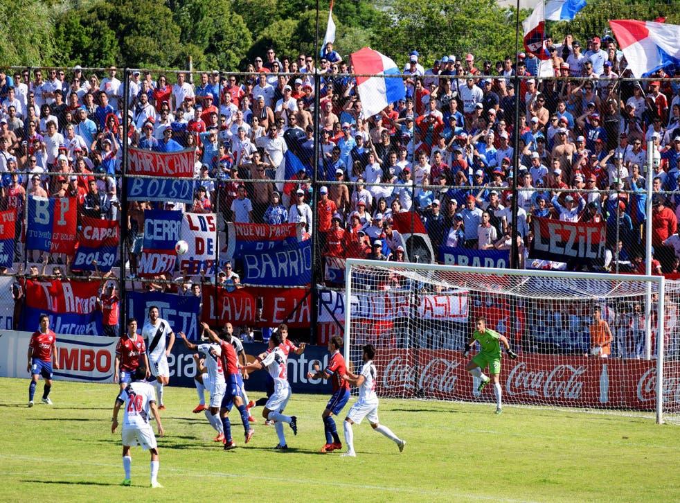Danubio play Nacional at the Jardines del Hipódromo
