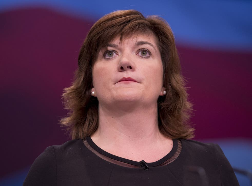 """Nicky Morgan,Minister for Women and Equalities, said:  'Now is not the time to pat ourselves on the back and say 'job well done' - we must be even more ambitious"""""""