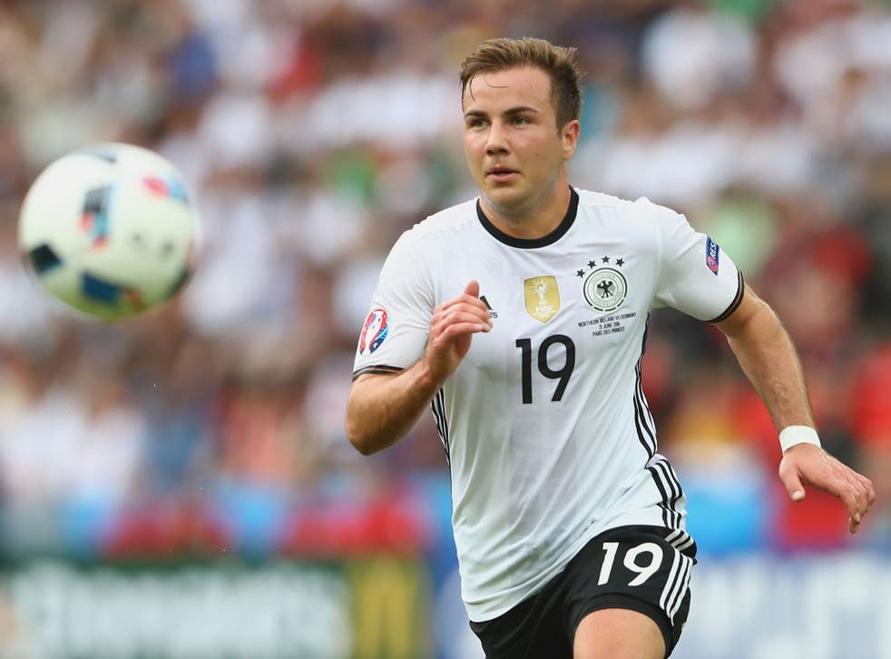 Gotze struggled to make an impact for Germany at Euro 2016