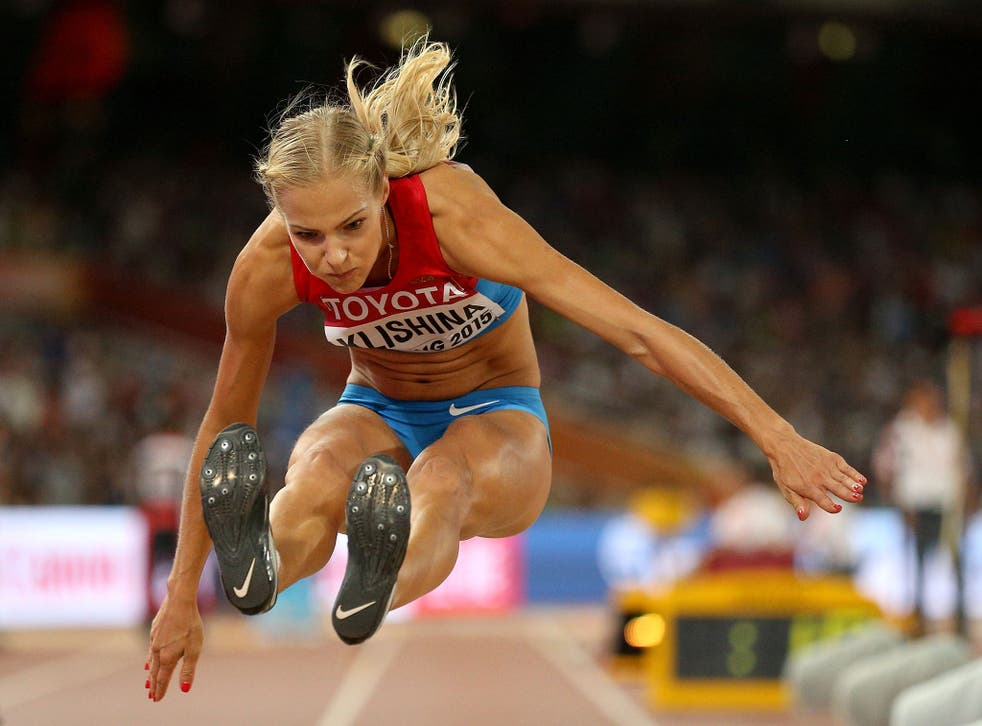 Long jumper Darya Klishina will be the only member of the Russian athletics team allowed to take part