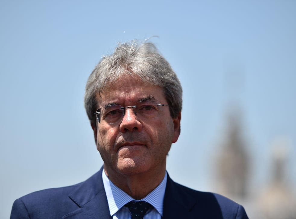 Paolo Gentiloni has been named as Italy's new Prime Minister